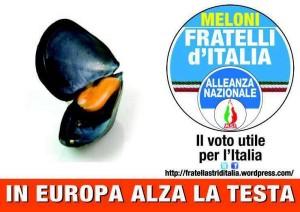 Giorgia Meloni cozza